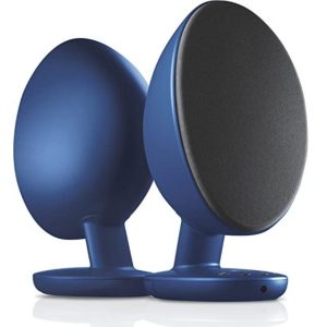 KEF EGG SERIES STEREO BLUETOOTH ACTIVE SPEAKER - UK (BLACK)